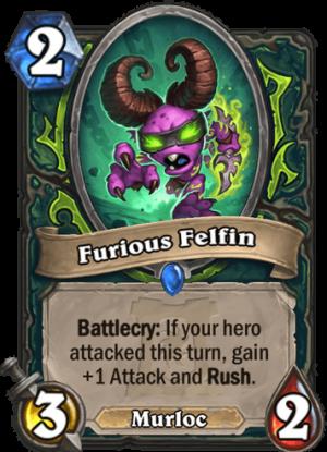 Furious Felfin Card