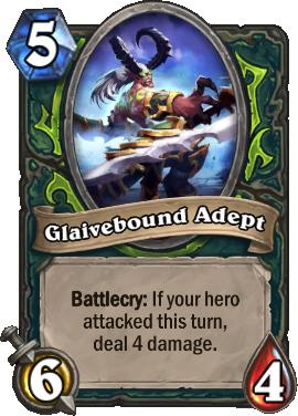 Glaivebound Adept Card