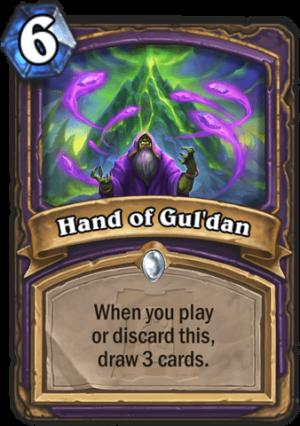 Hand of Gul'dan Card