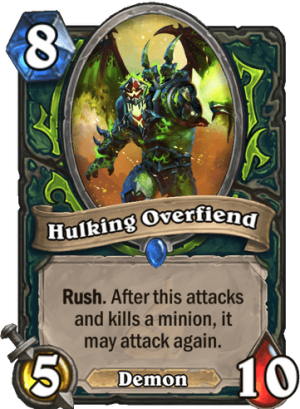 Hulking Overfiend Card