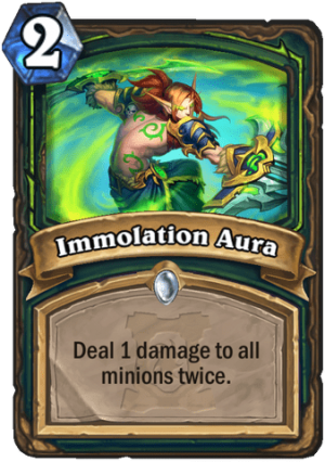 Immolation Aura Card