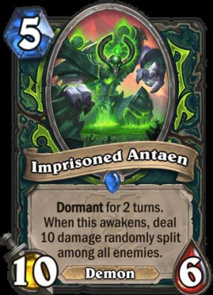 Imprisoned Antaen Card
