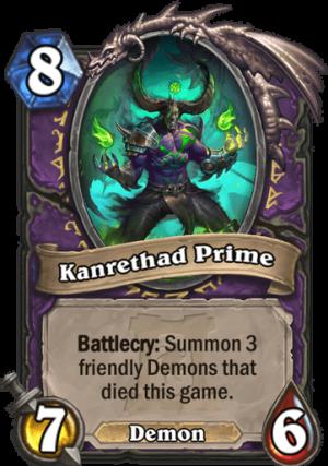 Kanrethad Prime Card