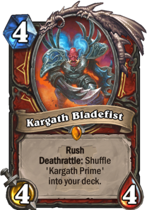 Kargath Bladefist Card