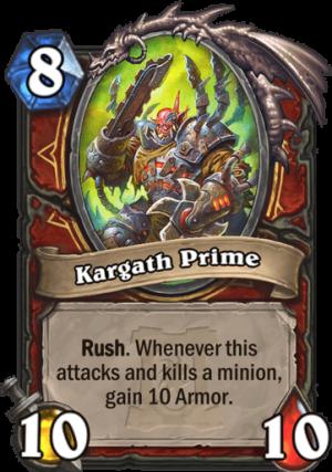 Kargath Prime Card