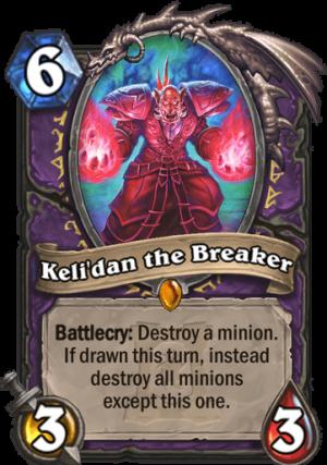 Keli'dan the Breaker Card
