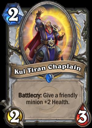 Kul Tiran Chaplain Card