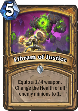 Libram of Justice Card