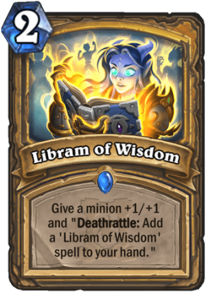 Libram of Wisdom Card