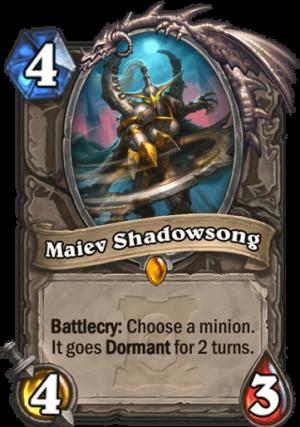 Maiev Shadowsong Card