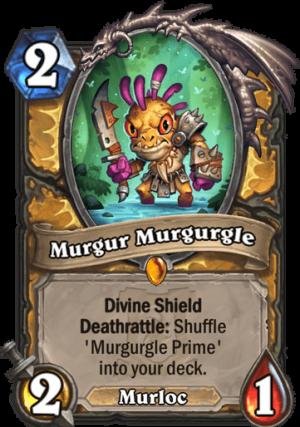 Murgur Murgurgle Card