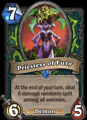 Priestess of Fury Card