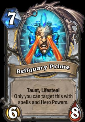 Reliquary Prime Card