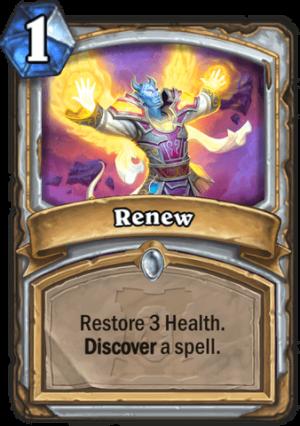 Renew Card