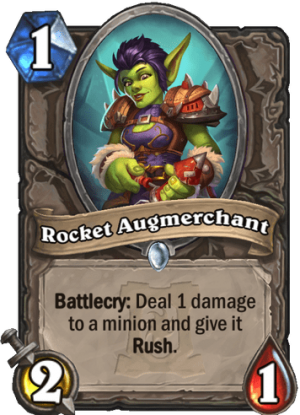 Rocket Augmerchant Card