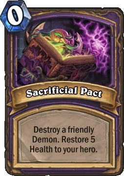 Sacrificial Pact Card