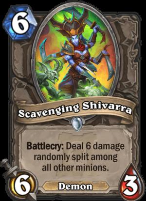 Scavenging Shivarra Card