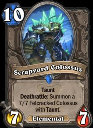 Scrapyard Colossus Card