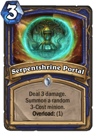 Serpentshrine Portal Card