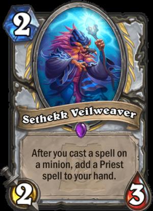 Sethekk Veilweaver Card