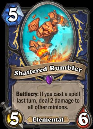 Shattered Rumbler Card