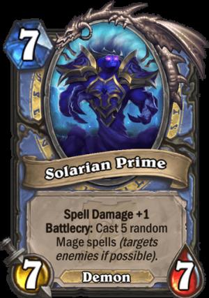 Solarian Prime Card