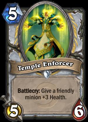 Temple Enforcer Card