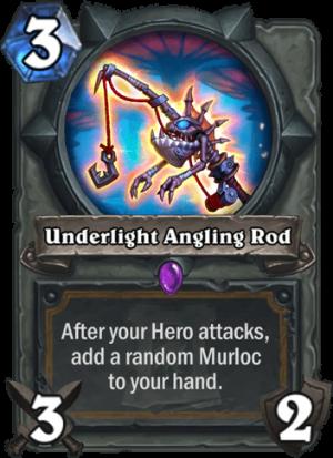 Underlight Angling Rod Card