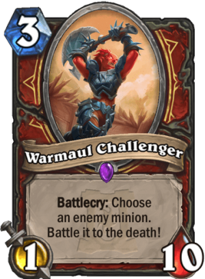Warmaul Challenger Card