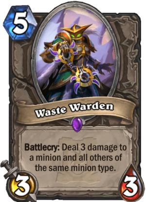 Waste Warden Card