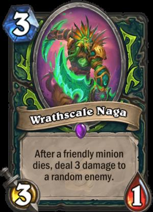 Wrathscale Naga Card