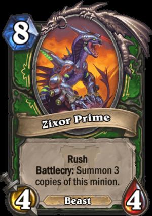 Zixor Prime Card