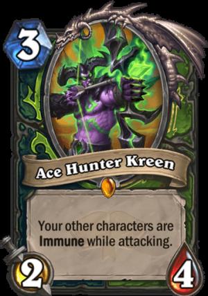 Ace Hunter Kreen Card