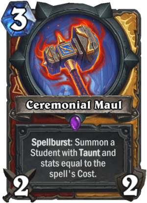 Ceremonial Maul Card