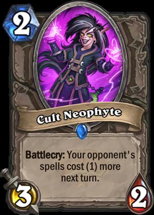 Cult Neophyte Card