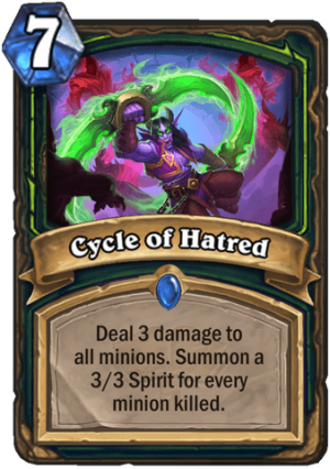 Cycle of Hatred Card