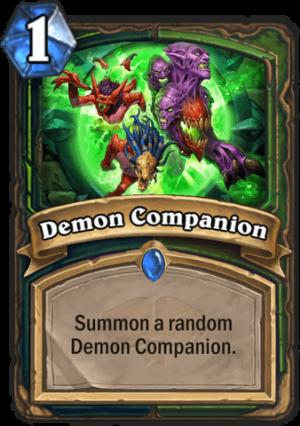 Demon Companion Card