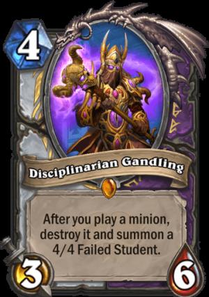 Disciplinarian Gandling Card