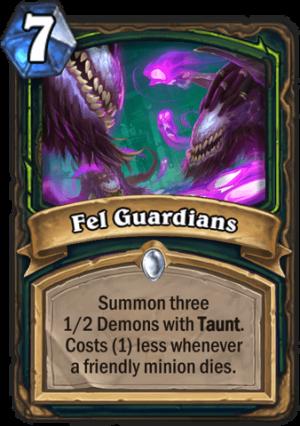 Fel Guardians Card