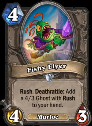 Fishy Flyer Card