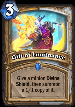 Gift of Luminance Card