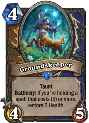 Groundskeeper Card