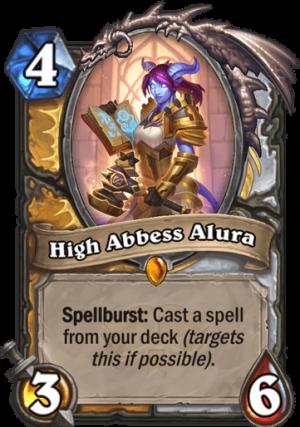 High Abbess Alura Card