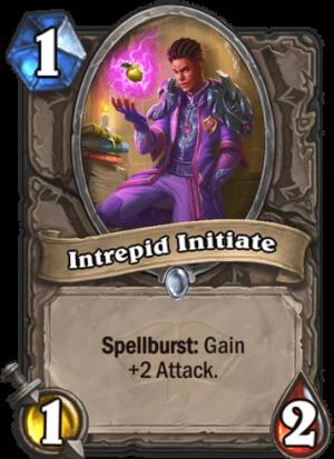 Intrepid Initiate Card