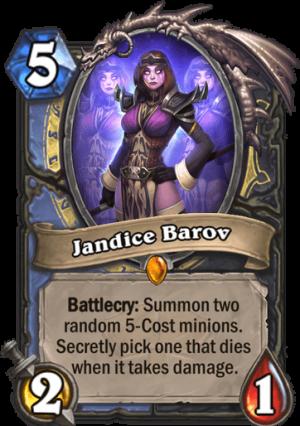Jandice Barov Card