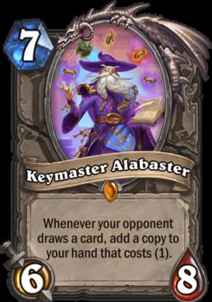 Keymaster Alabaster Card