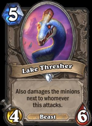 Lake Thresher Card