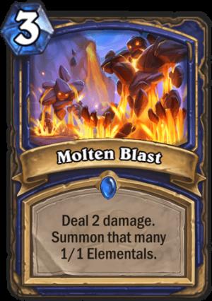Molten Blast Card