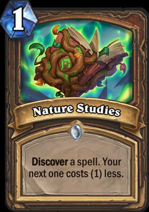 Nature Studies Card