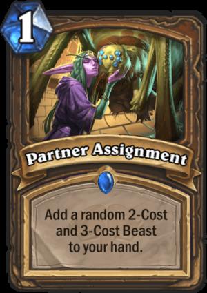 Partner Assignment Card